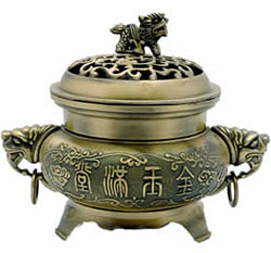 Fu Temple Incense Burner