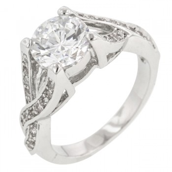 Marianne Engagement Simulated Diamond Ring