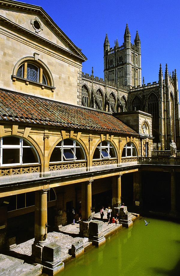 Roman Spa in Bath, England Tour