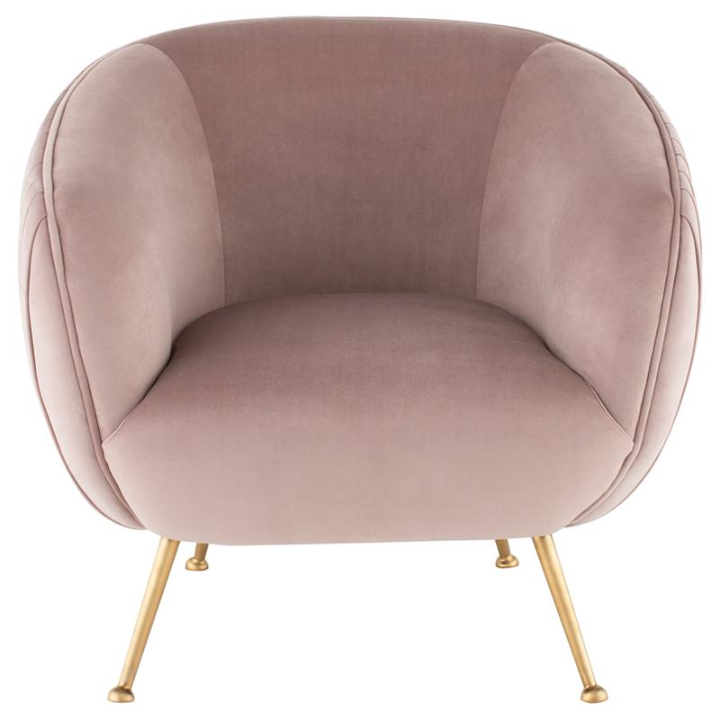 Pink Sofia Occasional Chair