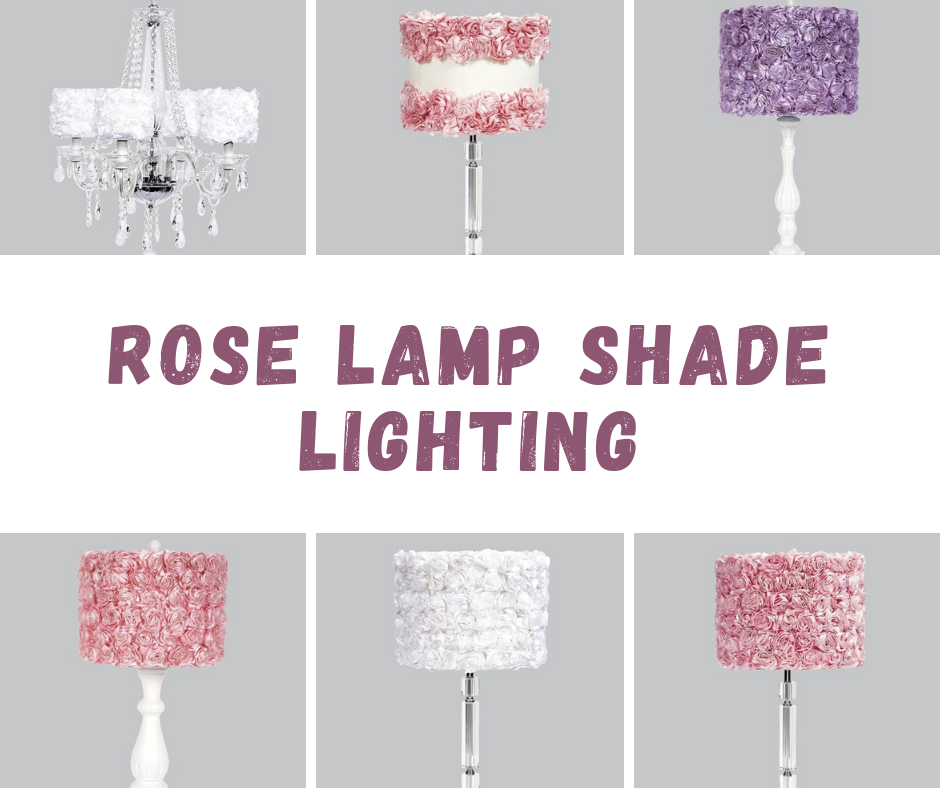 Lighting With Rose Lamp Shade