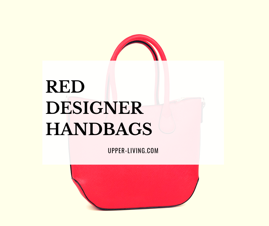 Red Designer Handbags
