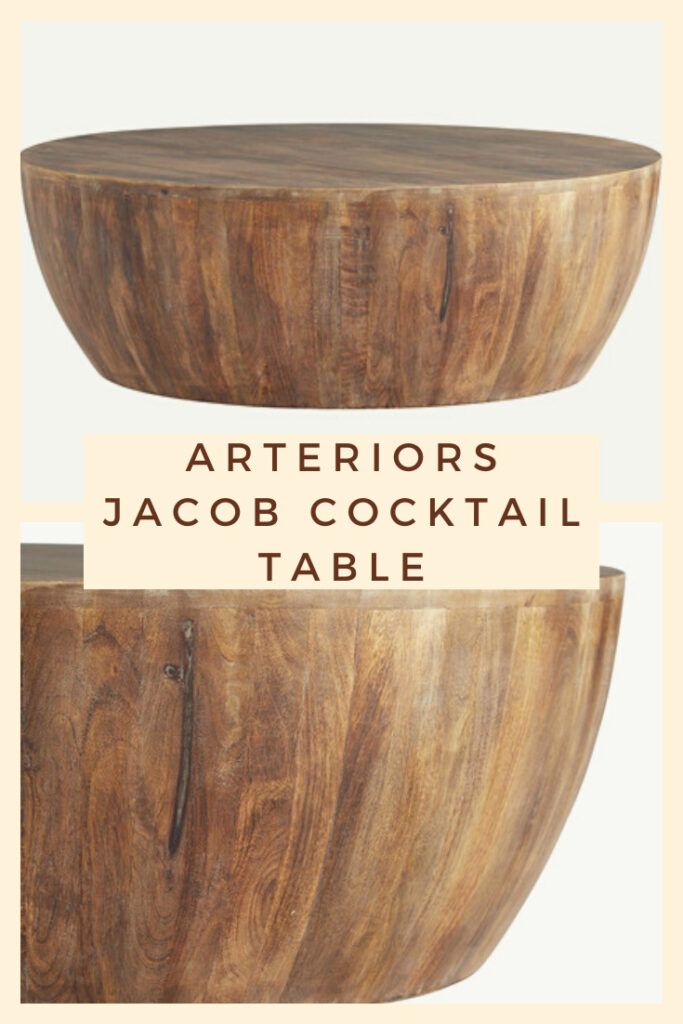 Arteriors Jacob Cocktail Table - boho coffee table to add a bohemian touch to your space.