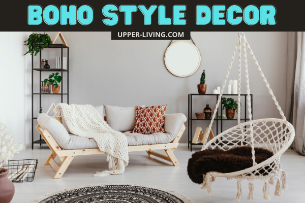 Boho Style Decor - Decorate your space bohemian style.